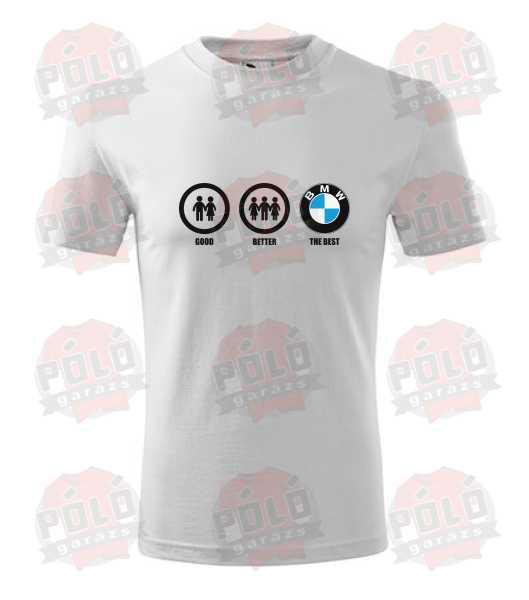 7940aad904 BMW a legjobb póló - PólóGarázs - Autós pólók, filmes pólók, kocka pólók