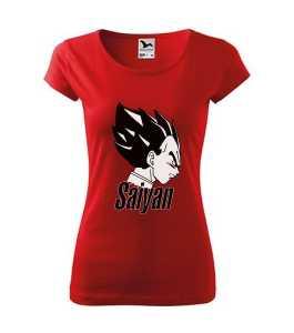 Csillagharcos - Saiyan (Dragon Ball) póló kép