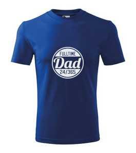Fulltime dad póló kép