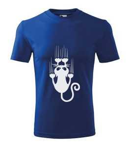 Kaparó macska póló kép