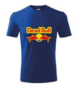 Red Bull - Dead Bull póló kép