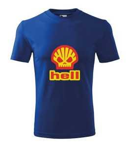 Shell - Hell póló kép