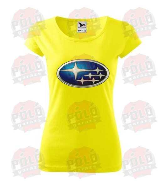 f35d6eeeaa Subaru logó póló - PólóGarázs - Autós pólók, filmes pólók, kocka pólók