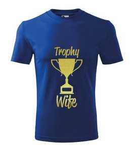 Trófea feleség póló kép