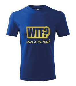 WTF? - Food póló kép